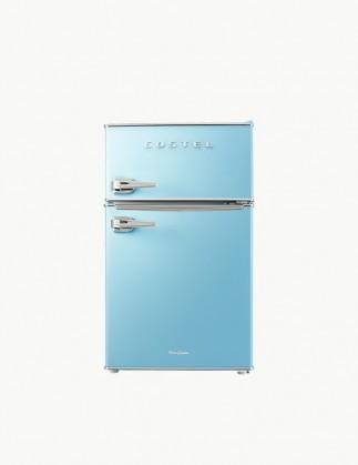 코스텔 클래식 레트로 냉장고 86L 스카이 블루 CRS-86GABU