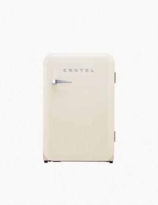 코스텔 모던 레트로 냉장고 107L 크림 아이보리 CRS-107HAIV